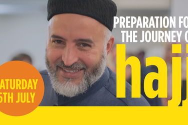Preparation for the Hajj Journey